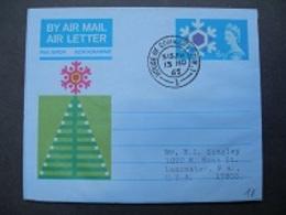 1965 - Christmas II ( 6d ) - Interi Postali