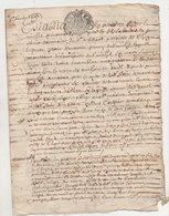 Loire Chuyer 1687 - Manuscripts