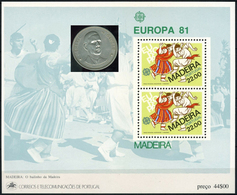 PORTUGAL MADEIRA -  DE GAULLE   -1 Sheet MNH - De Gaulle (Général)