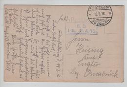 149PR/ CP Photo Lager In Den Argonnen :/ Camp En Argonne K.D.Feldpot 25.Res.Div.S.B.1.E. F.A.70 > Osnabrück - Marcophilie (Lettres)