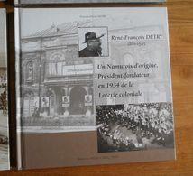 René-François DETRY, Un Namurois D'origine, Président-fondateur En 1934 De La Loterie Coloniale  -  Namur - Belgique