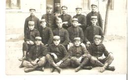 Soldats 52° Régiment - Guerre 1914-18
