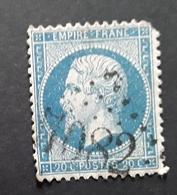Empire Dentele No 22 Obl GC 5082  Bureau Étranger De BEYROUTH , Syrie ( Liban ) , Indice 13, BTB - 1862 Napoléon III