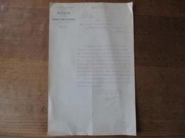 7e CORPS D'ARMEE GENIE DIRECTION D'EPINAL LE 16 DECEMBRE 1913 COURRIER LE Lt COLONEL FABIA A M. LE LIEUTENANT ADRIAN AVI - Documents