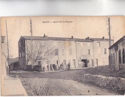 CPA - 13 - AURIOL - Quartier La Banne, GARAGE AUTOMOBILES L. PERES Et Attelage à Cheval - CARTE Peu Commune - Auriol