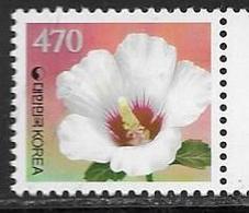 SOUTH KOREA, 2019, MNH, FLOWERS, 1v DEFINITIVE STAMP - Flora