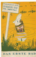 German Racist Card Against Russia Tsar Czar Mazurie . - Satiriques