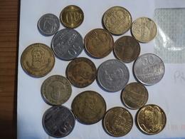 PARAGUAY. LOT DE 17 PIECES DE MONNAIE DIFFERENTES. 1975 / 2005 - Paraguay