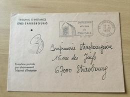SCH2473 France 1978 Lettre De Sarrebourg Pour Strasbourg - France