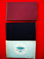 3 LIBRETTI DE HAVILLAND 1953 / 1956 / 1957 AEREI AEROPLANI - Boeken, Tijdschriften, Stripverhalen