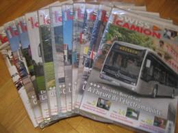 Lot De 11 Revues Mensuelles Neuves, Encore Sous Film,  SWISS CAMION Année 2019, Série Complete. Revue Du Routier - Paquete De Libros