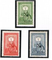 UNGHERIA (HUNGARY)  -  SG 1197.1199 -  1951 1ST HUNGARIAN POSTAGE STAMP ANNIVERSARY (COMPLET SET OF  -  MINT** -  RIF.CP - Nuovi