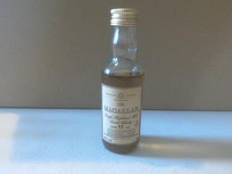 Mignonette Whisky Macallan 12 Ans écossais Non Ouverte Ancienne - Miniaturflaschen