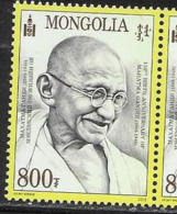 MONGOLIA, 2019, MNH, GANDHI,1v - Mahatma Gandhi