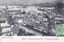 Belgique - MONS - Panorama De La Ville - Vue Prise Du Beffroi - Mons