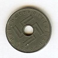 5 Reichsfennig 1940 A  ( TTB ) - 5 Reichspfennig