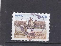 4444 Oblitéré Rond (2010) Bergerie Nationale De Rambouillet - Used Stamps