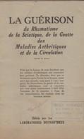 Grande Pharmacie De La Porte De Hal. Livre La Guérison. - 1901-1940