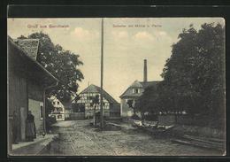 AK Sundheim, Strassenpartie Mit Schutter Und Mühle - Germany