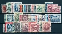 1949 Full Year - Fine Used - Checoslovaquia