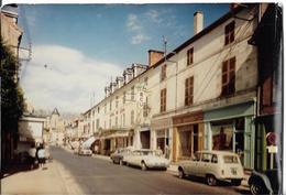LAPALISSE - La Rue Principale - Voiture : Citroen DS - Renault 4 L - Peugeot 403 - Simca - Lapalisse