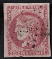 FRANCE 1870 - Canceled - YT 49 - 80c - 1870 Uitgave Van Bordeaux