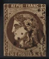 FRANCE 1870 - Canceled - YT 47 - 30c - 1870 Uitgave Van Bordeaux