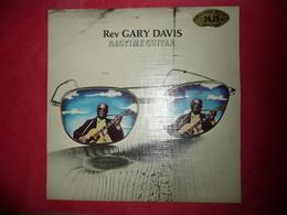 LP N°1673 - REV GARY DAVIS - RAGTIME GUITAR - COMPILATION 10 TITRES IMPORT - Blues