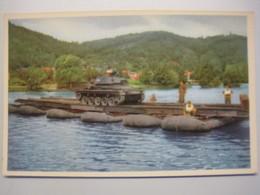 ABL Landmacht Force Terreste /  Ponton Met Lucht Cano S / Ponton à Canots Pneumatiques - Manovre