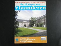 1825: Opening Filosofisch College LEUVEN - Documents Historiques
