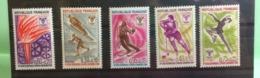 Jeux Olympiques Grenoble 1968 Neuf (Y&T N°1543 à1547 (5val) - Coté 3€ (Tous De Bonne Qualité Garantie) - France