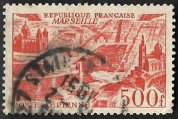 FRANCE  1949  -  PA 27 - Marseille  - Oblitéré - Cote 7e - Airmail