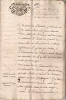 Cachet De Généralité De La Savoie - Revenue Stamps