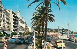 Automobiles - Voitures De Tourisme - Nice - La Promenade Des Anglais - Voir Scans Recto-Verso - PKW