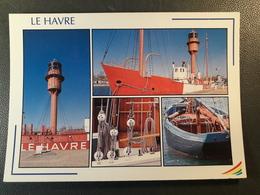 LE HAVRE  LE BATEAU PHARE  CHALUTIER - Le Havre