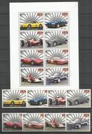 NEVIS - MNH - Transport - Cars - Ferrari - Cars