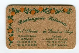 CdV °_ Boulanger-14-Deauville-de L'Avenir-carte En Liège - Visiting Cards