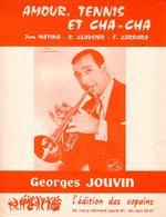 TROMPETTE - GEORGES JOUVIN - AMOUR TENNIS ET CHA CHA - 1966 - EXC ETAT COMME NEUF - - Music & Instruments