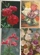 CPSM Et CPM, Th. Fleurs Lot De 50 Cartes Semi-Modernes Et Modernes , Fleurs 1950 - 1990 - Blumen