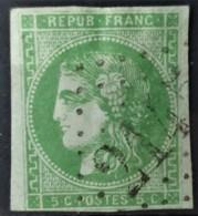 FRANCE 1870 - Canceled - YT 42B - 5c - 1870 Uitgave Van Bordeaux