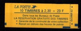 France Carnet 2614 C3 Fermé Conf 9 Marianne De Briat - Definitives