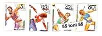1990 Sport  Olympic Stamps Exhibition – Olymphilex 4v.- Used/oblitere (O)  BULGARIA / Bulgarie - Bulgarie