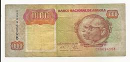 Angola 1000 Kwanzas 1991 VF - Angola