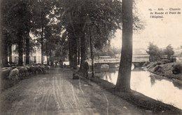 Ath - Chemin De Ronde Et Pont De L'Hôpital - Ath