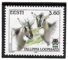 Estonia 2000 .Tallinn Zoo (Amur Goral). 1v: 3.60.   Michel # 373 - Estonia