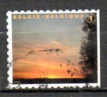 BELGIQUE. Timbre Oblitéré De 2010. Timbre De Deuil. - Belgique