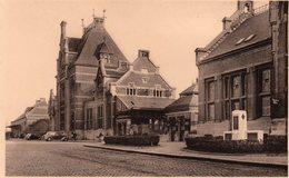 Ath - La Gare Et La Poste - Ath