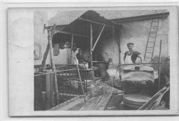Carte-Photo - Fromagerie Extérieure - Fromage D'alpage - Carte Envoyée De Bonvillard - Vaud  En 1912 - Vaud - VD Vaud