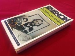 """1976, SIMENON, """"LE DESTIN DES MALOU"""", ÉDITIONS PRESSES DE LA CITÉ - Simenon"""