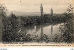 D64  USTARITZ  La Nive Et Les Montagnes Vers Le Séminaire De Saint- François- Xavier   ..... - Autres Communes